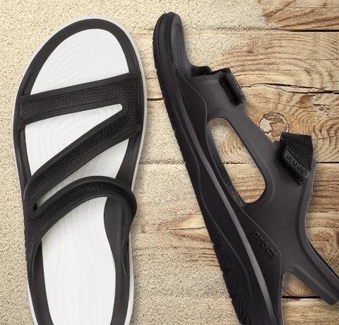 Crocs Brooklyn sandal.