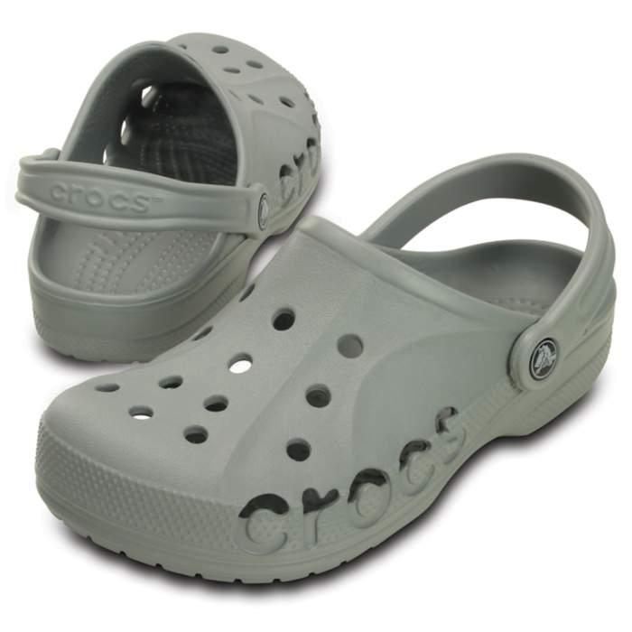 8ef86d6218c11f Crocs Light Grey Baya