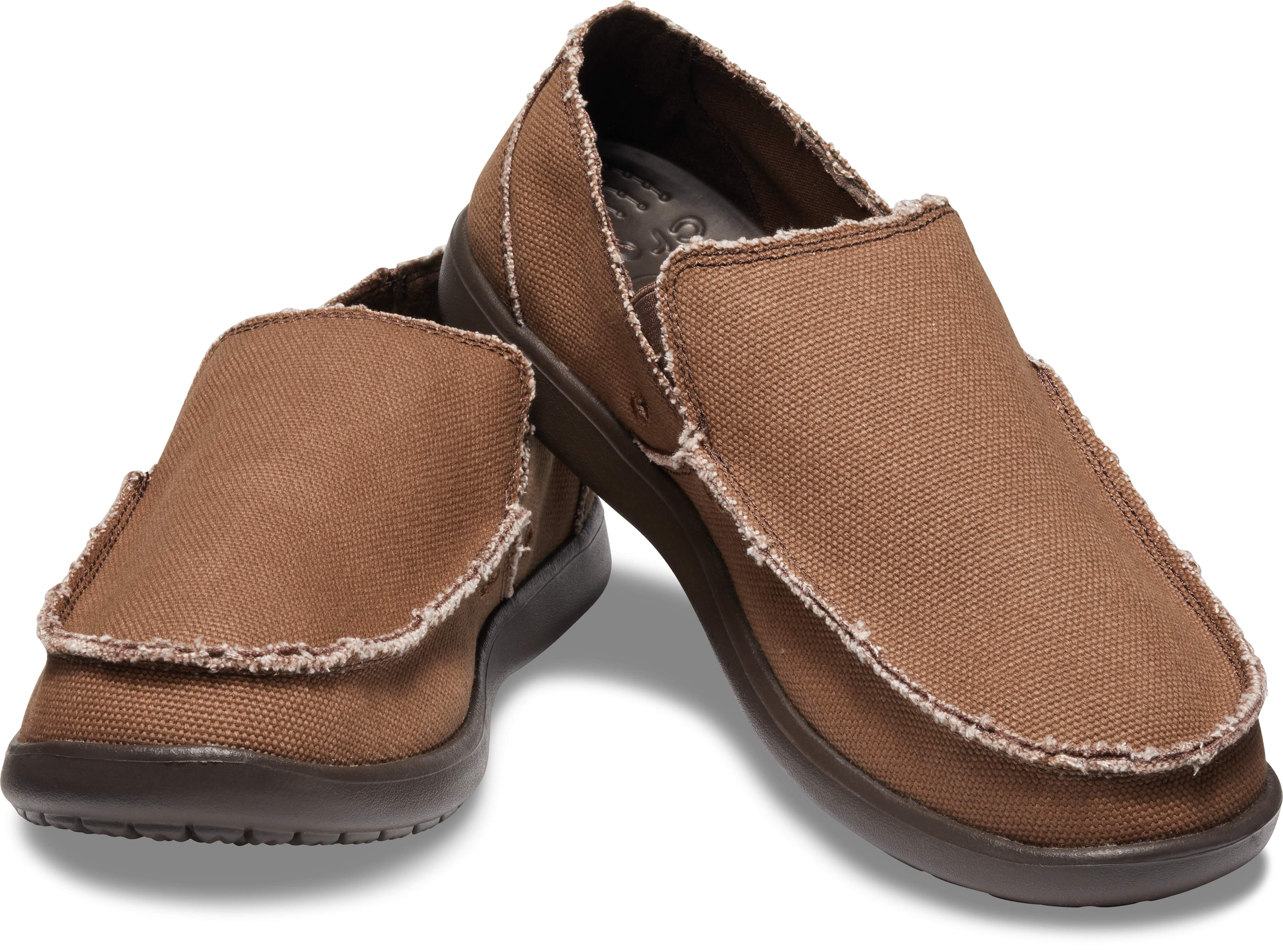 【クロックス公式】 メンズ サンタクルーズ スリップオン Men's Santa Cruz Slip-On メンズ、紳士、男性用 ブラウン/茶 25cm,26cm,27cm,28cm,29cm loafer ローファー 靴