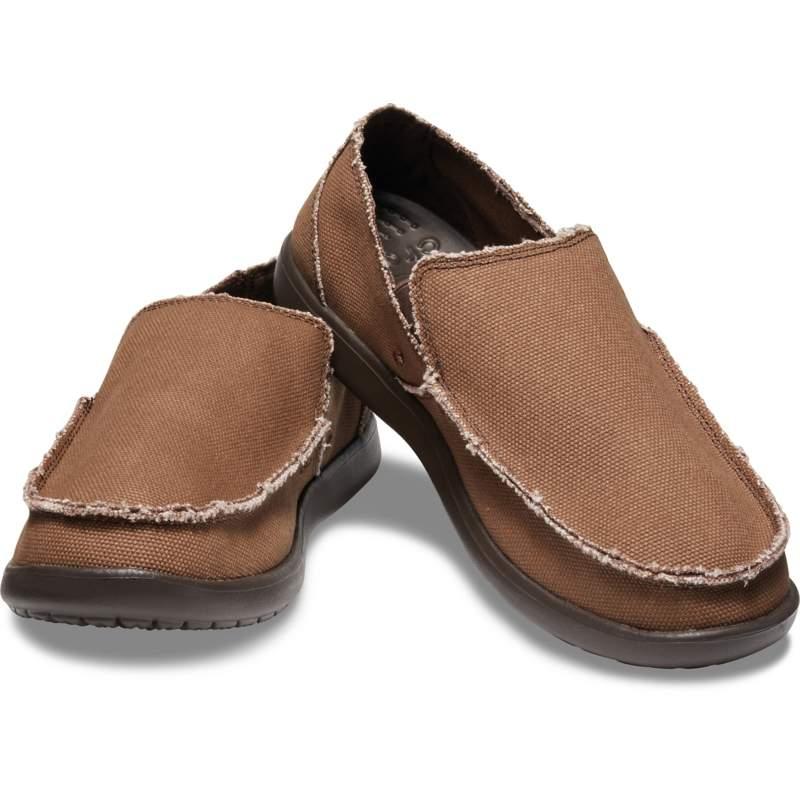 クロックス 公式オンラインショップ【クロックス公式】 メンズ サンタクルーズ スリップオン Men's Santa Cruz Slip-On メンズ、紳士、男性用 ブラウン/茶 25cm,26cm,27cm,28cm,29cm loafer ローファー 靴