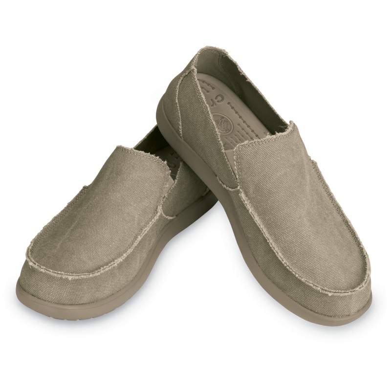 【クロックス公式】 メンズ サンタクルーズ スリップオン Men's Santa Cruz Slip-On メンズ、紳士、男性用 ブラウン/茶 25cm,26cm,27cm,28cm,29cm loafer ローファー 靴 20%OFF
