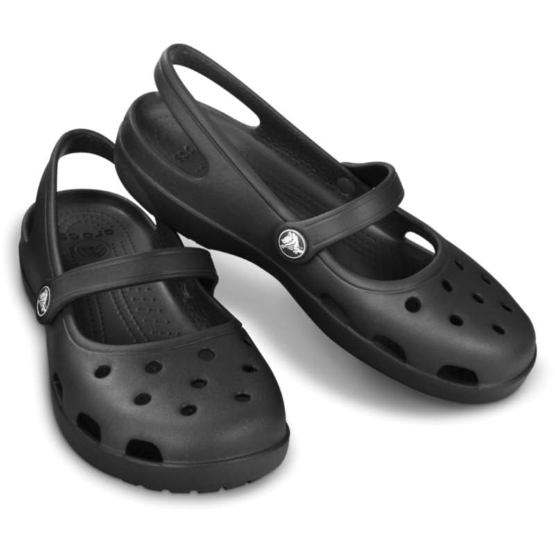 【クロックス公式】 シャイナ メリージェーン ウィメン Women's Shayna Mary Jane ウィメンズ、レディース、女性用 ブラック/黒 20cm,21cm,22cm,23cm,24cm,25cm shoe 靴 シューズ