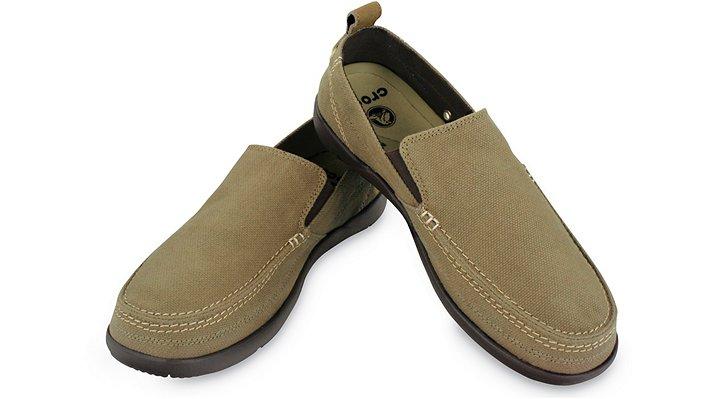 【クロックス公式】 ワルー Walu メンズ、紳士、男性用 ブラウン/茶 25cm,26cm,27cm,28cm,29cm loafer ローファー 靴