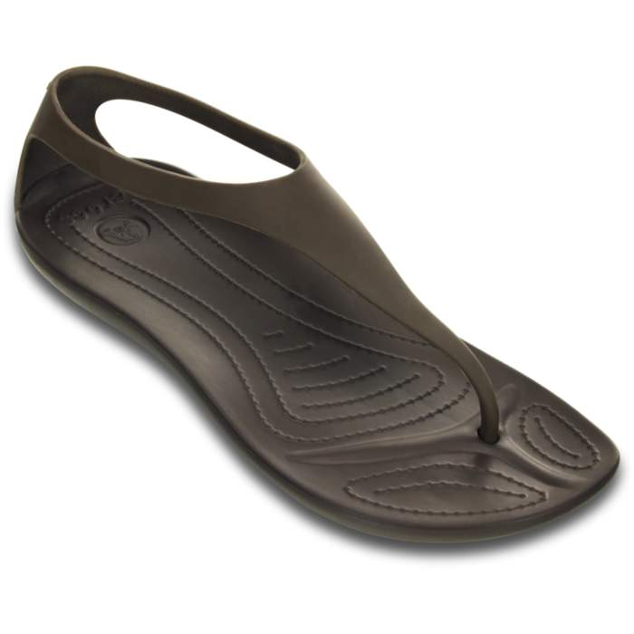 Crocs Sexi Flip Dark Brown