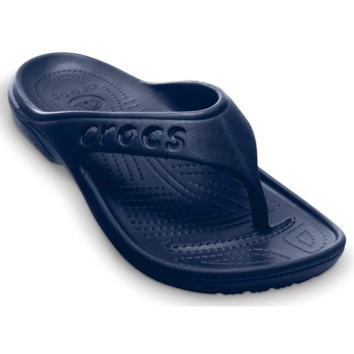 1a0a034ea5ada1 Crocs Navy Baya Flip