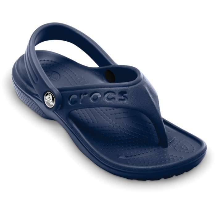 Crocs Baya Flip Navy Blue