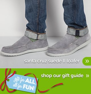 Santa Cruz Suede II Loafer