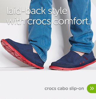 Boys' Crocs Cabo Slip-on