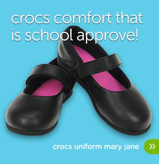 Crocs Uniform Mary Jane