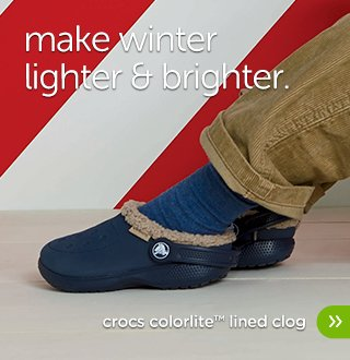 Kids' Crocs ColorLite Lined Clog