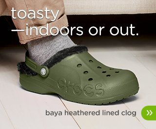 Baya Heathered Lined Clog