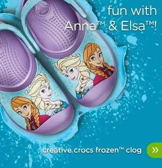 Girls' Creative Crocs Frozen™ Clog