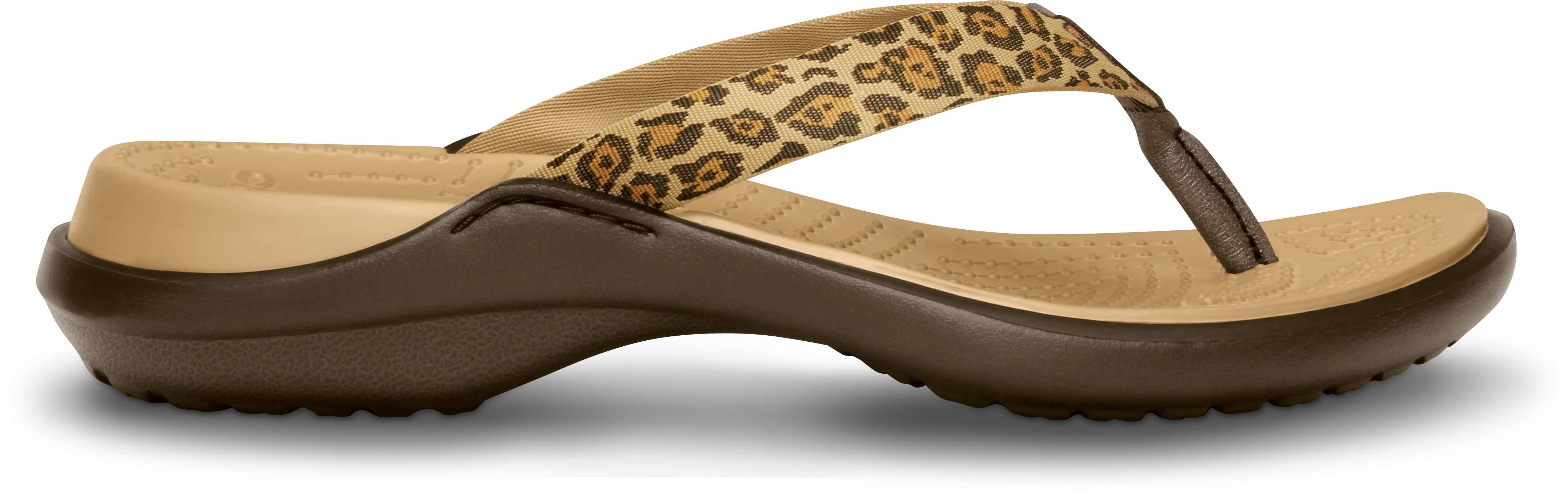 Women's<br /> Capri IV Leopard Print Flip-flop