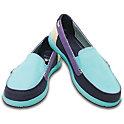 Crocs Womens Walu Canvas Loafer - Multiple Color