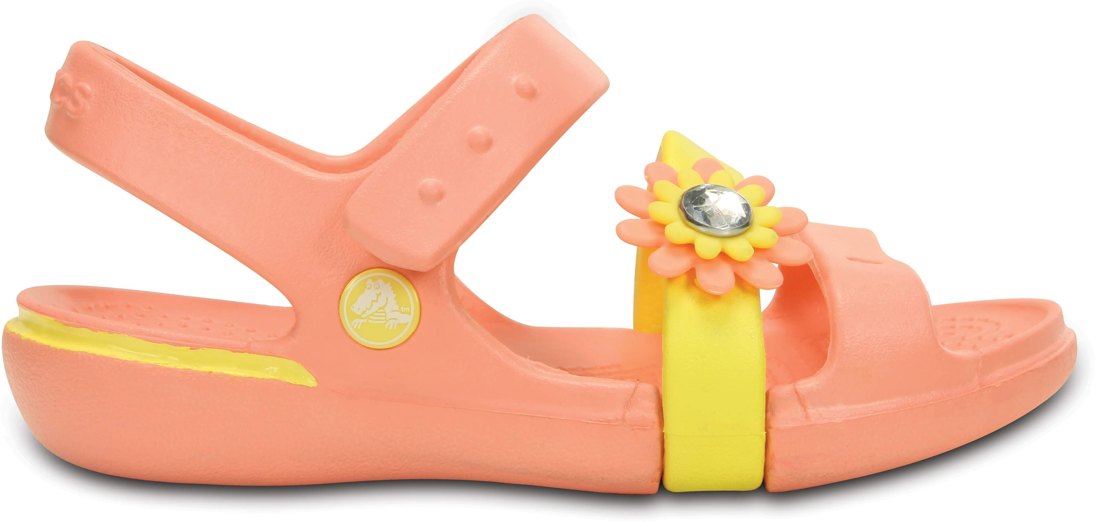 Girls' Keeley Petal Charm Sandal