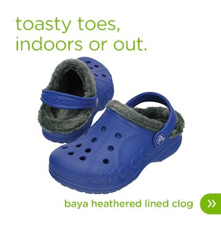 Kids' Baya Heathered Lined Clog