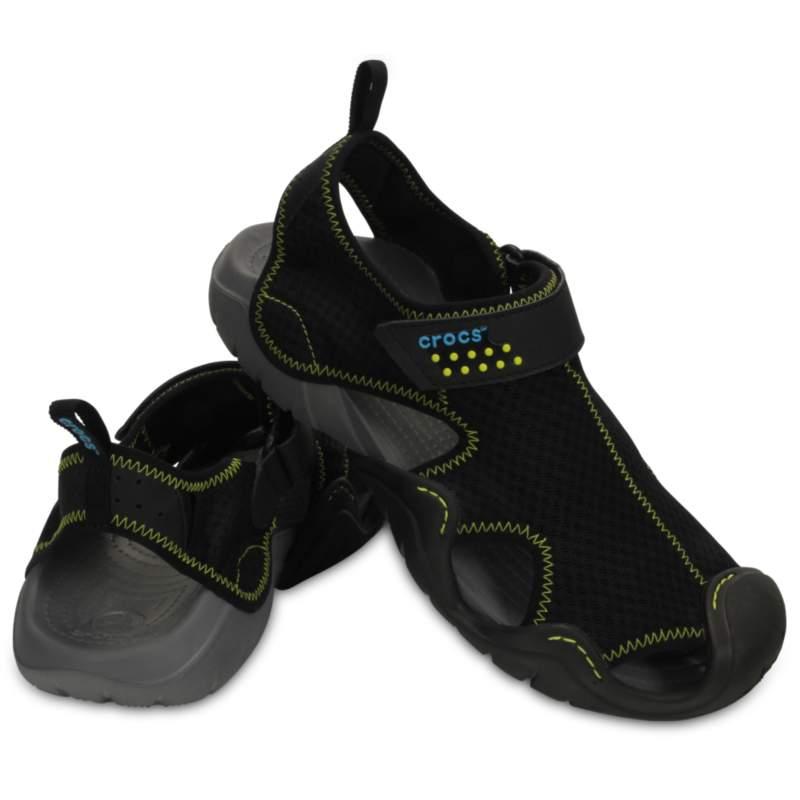 クロックス 公式オンラインショップ【クロックス公式】 スウィフトウォーター サンダル Men's Swiftwater Sandal メンズ、紳士、男性用 ブラック/黒 25cm,26cm,27cm,28cm,29cm sandal サンダル