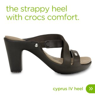 Crocs Cyprus IV Heel for Wom