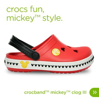 Kids' Crocband™ Mickey™ Clog III