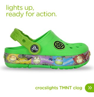 Kids' CrocsLights Teenage Mutant Ninja Turtles™ Clog