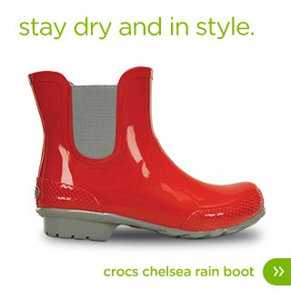 Women's Crocs Chelsea Rain Boot