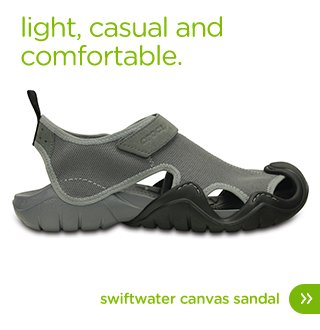 Men's Swiftwater Canvas Sandal