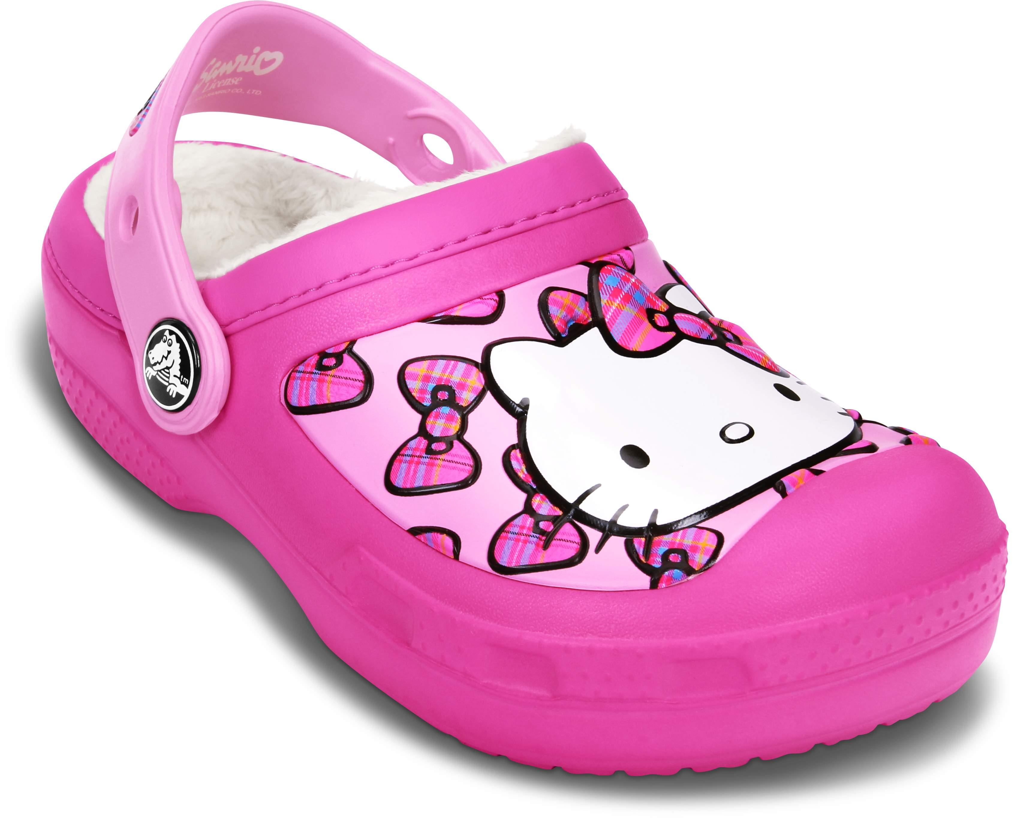 CreativeCrocs Hello Kitty® Bow Lined Clog