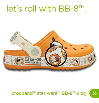 Kids' Crocband™ Star Wars™ BB-8™ Clog