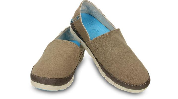 クロックス 公式オンラインショップ【クロックス公式】 ストレッチ ソール ローファー ウィメン stretch sole loafer w ウィメンズ、レディース、女性用 ブラウン/茶 22cm,23cm,24cm loafer ローファー 靴 60%OFF