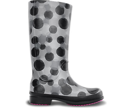 Women's<br /> Wellie Polka Dot Rain Boot