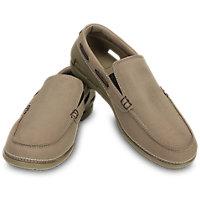 Crocs Mens Beach Line Boat Slip-On Shoes (Multi Colors)