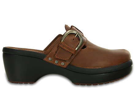 Women's Crocs Cobbler Buckle Clog