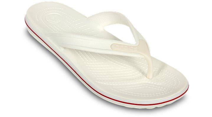 Crocs Unisex Crocband Flip-Flops White oQIkSh7HC