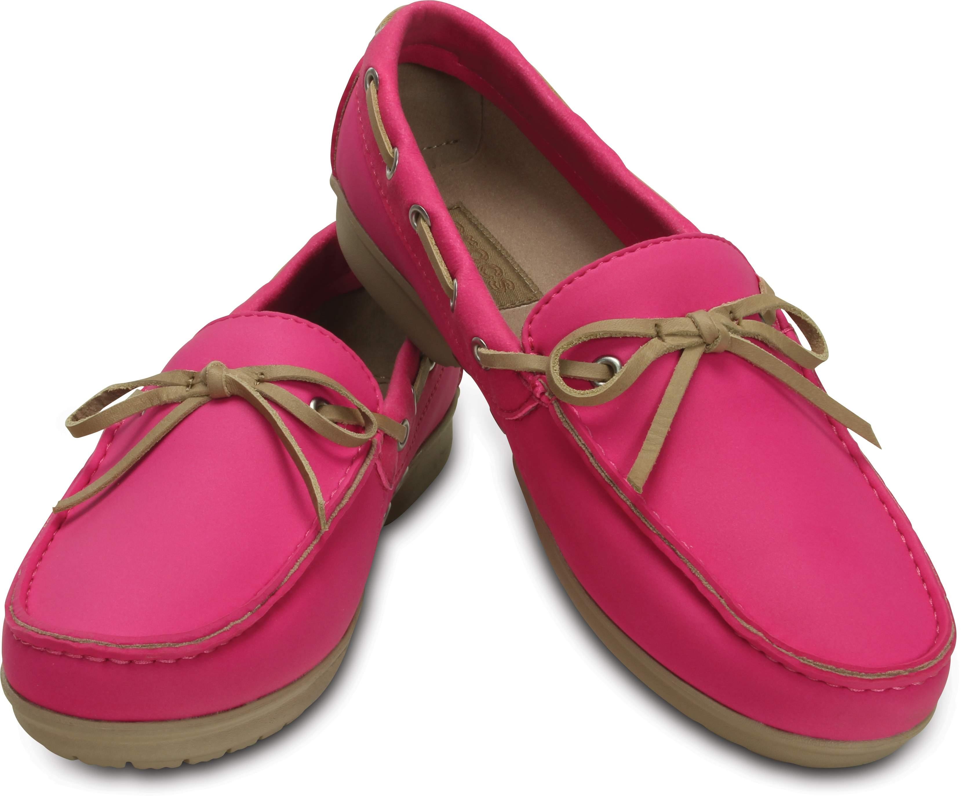 Crocs Women's Wrap ColorLite Loafer Pink 15753-6IR