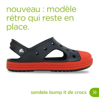 sandale bump it de crocs