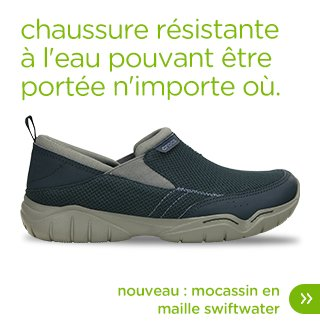 moccassin en maille swiftwater