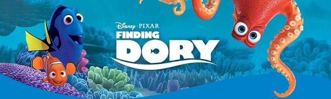 Finding Dory collection only from Crocs