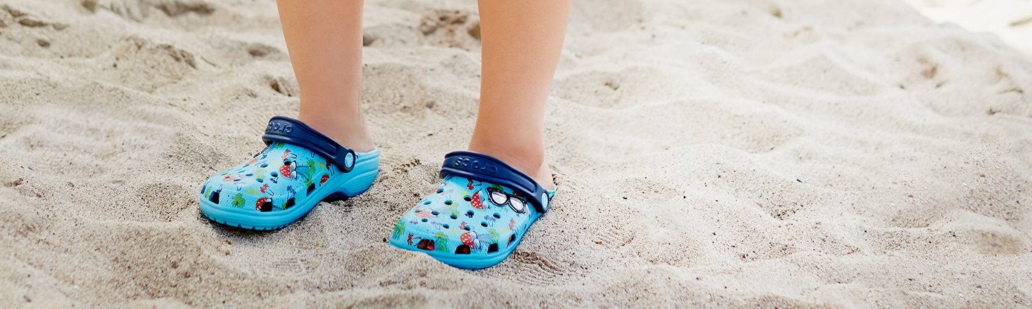 crocs summer prints