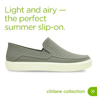 Light and airy. The perfect summer slip-on. Citilane Collection.