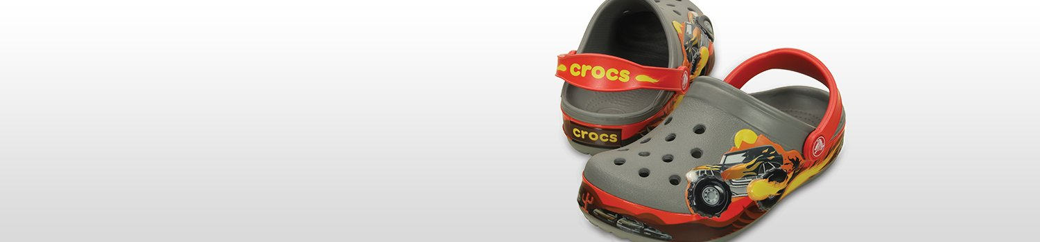 Kids' Crocband Monster Truck Clog