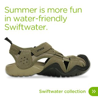 Summer is more fun in water-friendly Swiftwater. Swiftwater Collection
