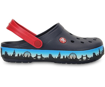 CrocbandTM London Skyline Clog