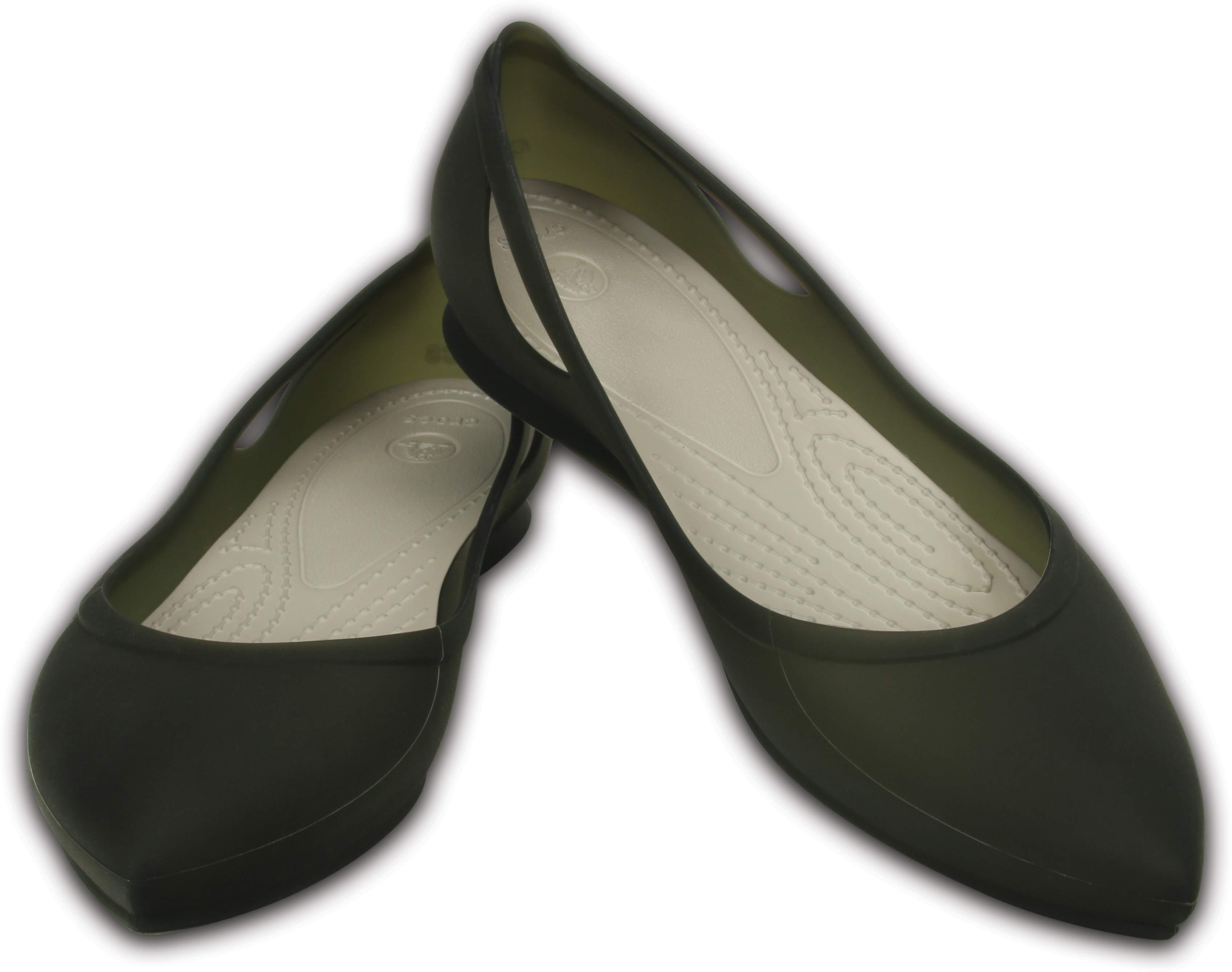 【クロックス公式】 クロックス リオ フラット ウィメン Women's Crocs Rio Flat ウィメンズ、レディース、女性用 ブラック/黒 21cm,22cm,23cm,24cm,25cm flat フラットシューズ バレエシューズ ぺたんこシューズ 50%OFF