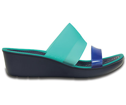 Women's<br /><br /> Colorblock Mini Wedge