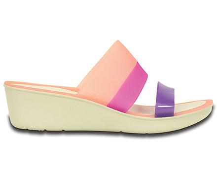Women's<br /> Colorblock Mini Wedge