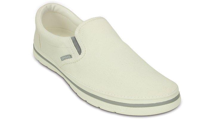 Crocs Norlin Slip on Mens Shoes (White)