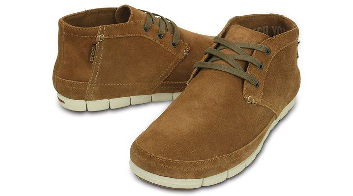 Crocs Stretch Sole Mens Desert Boot | eBay