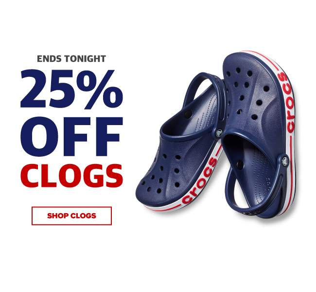 8efe45051e75  Crocs Singapore  Final Hours! Your favourite clogs for the whole family!  Now 25% OFF!