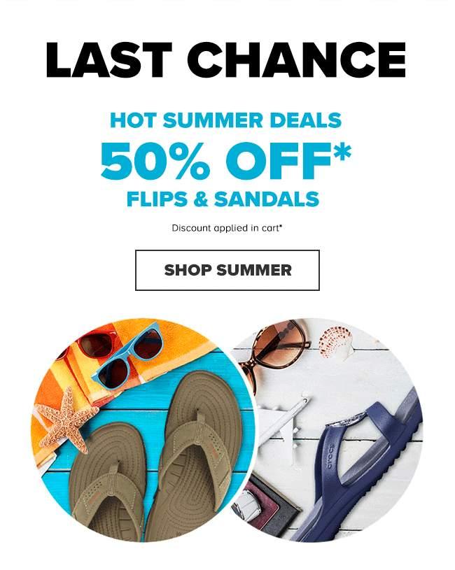 FLIPS & SANDALS
