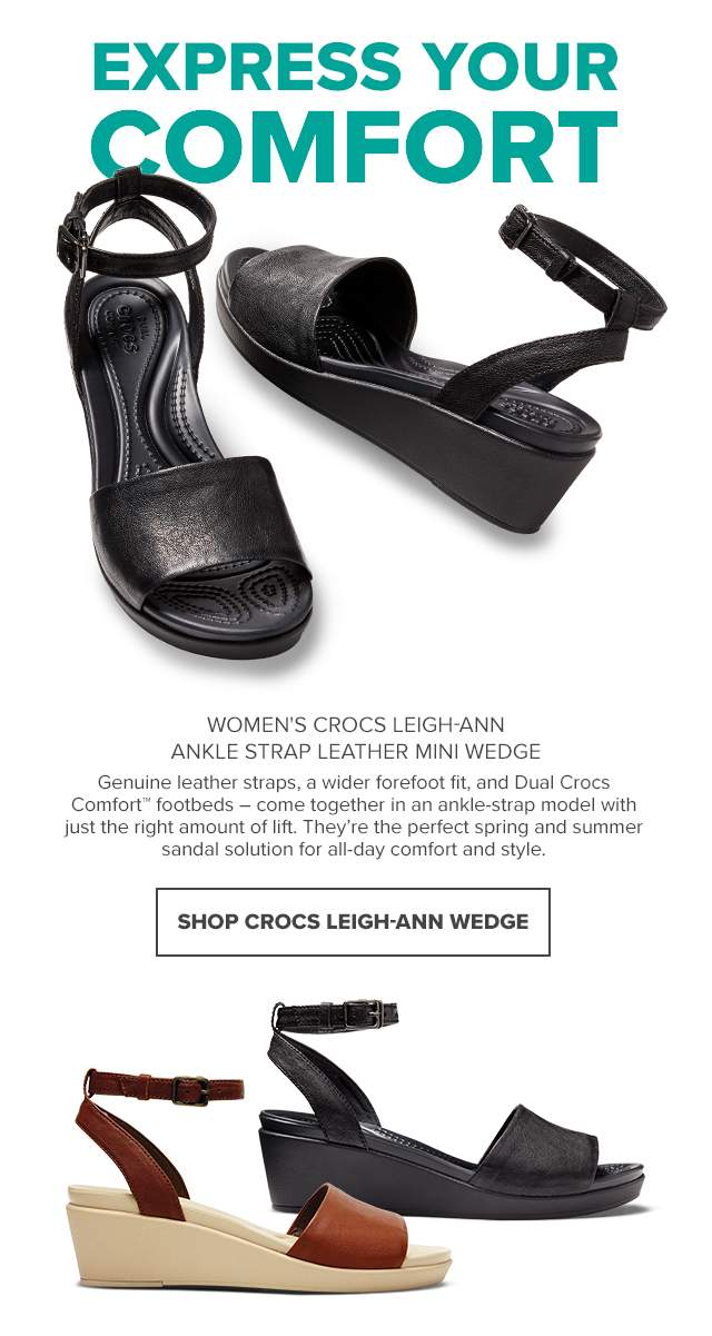93f40fd33e68  Crocs Singapore  Leigh-Ann Wedges  a combination of style and comfort –  Get yours now!